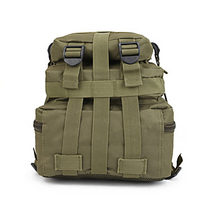 cheap Softshell, Fleece & Hiking Jackets-55 L Hiking Backpack Military Tactical Backpack Waterproof Quick Dry Wear Resistance Outdoor Hiking Camping Nylon Army Green