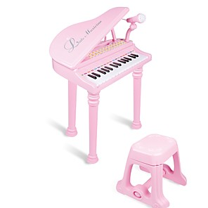 cheap Music Boxes-Intex Electronic Keyboard Voice Sound Material Unisex Boys' Girls' Baby 1 pcs Graduation Gifts Toy Gift
