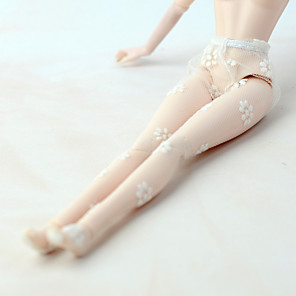 cheap Dolls Accessories-Doll Pants Stockings For Barbiedoll Cream Tulle Polyester Stockings For Girl's Doll Toy / Kids