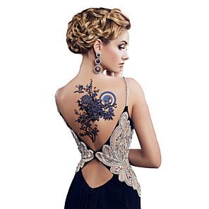 cheap Tattoo Stickers-3 pcs Tattoo Stickers Temporary Tattoos Flower Series Body Arts Shoulder