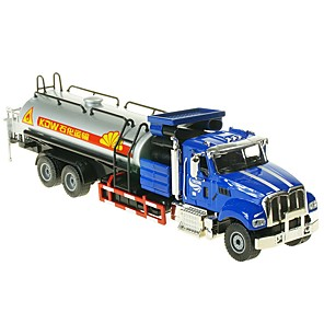 cheap Toy Trucks & Construction Vehicles-1:50 Toy Car Truck Transporter Truck Construction Vehicle Truck Construction Truck Set City View Cool Exquisite Metal Mini Car Vehicles Toys for Party Favor or Kids Birthday Gift 1 pcs