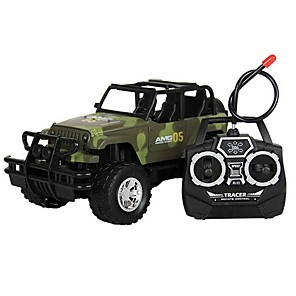 cheap RC Cars-RC Car 4CH Truck 1:18 Brush Electric KM/H