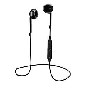 cheap Sports Headphones-S6 Neckband Headphone Bluetooth4.1 Bluetooth 4.1 with Microphone with Volume Control Mobile Phone