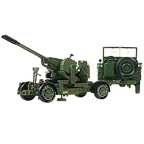 cheap Toy Trucks & Construction Vehicles-1:18 Toy Car Military Chariot Transporter Truck Truck Military Vehicle City View Cool Exquisite Metal Mini Car Vehicles Toys for Party Favor or Kids Birthday Gift 2 pcs