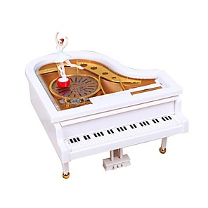 cheap Music Boxes-Music Box Ballerina Music Box Music Box Dancer Classic Romantic Piano Rotating Unique Plastic Women's Girls' Female Kid's Adults Kids Graduation Gifts Toy Gift