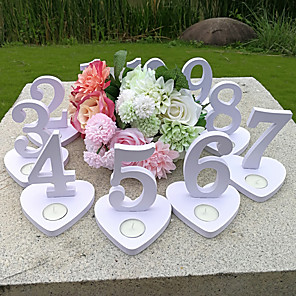 cheap Wedding Decorations-Wooden PVC Box Ceremony Decoration - Wedding Wedding