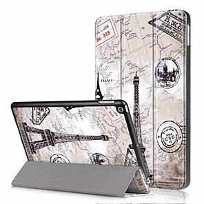 cheap iPad case-Case For Apple iPad Mini 5 / iPad New Air(2019) / iPad (2018) with Stand / Flip Full Body Cases Scenery / Oil Painting Hard PU Leather / iPad Pro 10.5 / iPad (2017)
