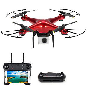 cheap RC Drone Quadcopters & Multi-Rotors-RC Drone DM106S BNF 4CH 6 Axis 2.4G With HD Camera 0.3MP 480P RC Quadcopter One Key To Auto-Return / Headless Mode / Access Real-Time Footage RC Quadcopter / Camera / 1 USB Cable Lead