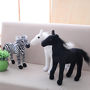 cheap RC Cars-1 pcs Stuffed Animal Plush Toys Plush Dolls Stuffed Animal Plush Toy Horse Zebra Animals Lovely Acrylic / Cotton Imaginative Play, Stocking, Great Birthday Gifts Party Favor Supplies Teenager