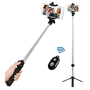 cheap Phone Mounts & Holders-VORMOR Selfie Stick Bluetooth Extendable Max Length 77 cm For Android / Universal / iOS Android / iOS