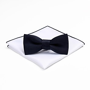 cheap Men's Accessories-Men's Vintage / Party Bow Tie - Solid Colored Bow