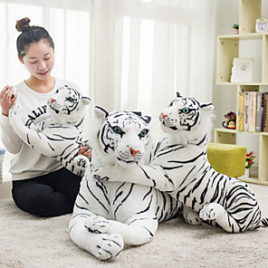 cheap Historical & Vintage Costumes-Tiger Stuffed Animal Plush Toy Animals Cool Acrylic / Cotton Girls' Perfect Gifts Present for Kids Babies Toddler