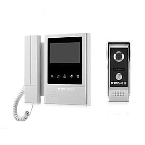cheap Video Door Phone Systems-XINSILU® XSL-V43E168 Wired 4.3 inch Telephone / Hands-free 480*272 Pixel One to One Video Doorphone