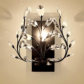 cheap Flush Mount Wall Lights-Modern Contemporary Wall Lamps & Sconces Living Room Bedroom Metal Wall Light 220-240V 60 W