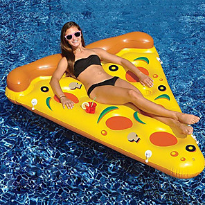cheap Inflatable Ride-ons & Pool Floats-Pizza Inflatable Pool Floats PVC Inflatable Durable Swimming Water Sports for Adults 180*155*20 cm