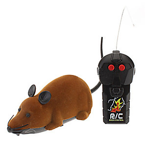cheap RC Drone Quadcopters & Multi-Rotors-Gags & Practical Joke Mouse Remote Control / RC Creepy Velvet Flocked For Infant All Boys' Girls' 1 pcs