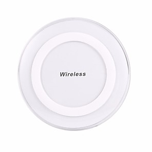 cheap Wireless Chargers-Wireless Charger USB Charger Universal Wireless Charger Not Supported 1 A 100~240 V for iPhone X / iPhone 8 Plus / iPhone 8