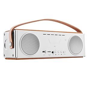 cheap Portable Speakers-LX-UN22 4.2 TF Card Slot Bookshelf Speaker Brown