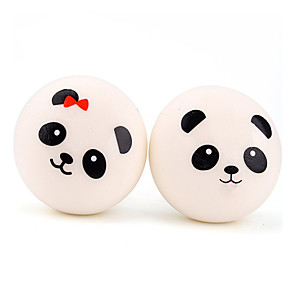 cheap Stress Relievers-Squishy Squishies Squishy Toy Squeeze Toy / Sensory Toy Jumbo Squishies Stress Reliever Panda Stress and Anxiety Relief Super Soft Slow Rising Poly urethane For Kid's Adults' Children's Boys' Girls'