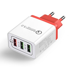 cheap Fast Chargers-Home Charger / Portable Charger QC 3.0 Home Charger RoHS / EU Plug