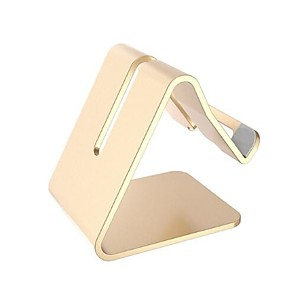 cheap Phone Mounts & Holders-Table / Desk Desktop Mount Stand Holder Metal Holder For iPhone iPad Mobile Phone Tablet