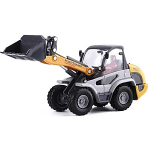 cheap Toy Trucks & Construction Vehicles-1:50 Toy Car Transporter Truck Construction Vehicle Construction Truck Set Dozer City View Exquisite Metal Mini Car Vehicles Toys for Party Favor or Kids Birthday Gift 1 pcs