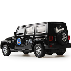 cheap Toy Cars-1:32 Toy Car Vehicles Car Police car City View Cool Exquisite Metal Mini Car Vehicles Toys for Party Favor or Kids Birthday Gift 1 pcs