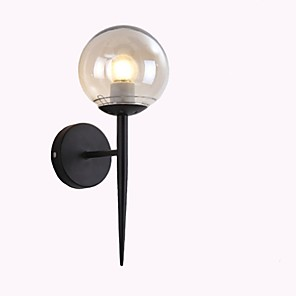 cheap Indoor Wall Lights-Creative / New Design Modern Contemporary / Country Wall Lamps & Sconces Study Room / Office / Shops / Cafes Metal Wall Light IP68 110-120V / 220-240V 40 W / E26 / E27