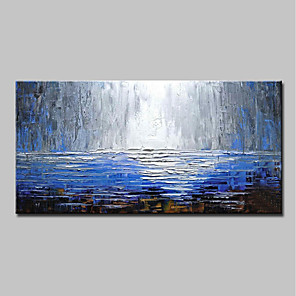 cheap Abstract Paintings-Mintura® Large Size Hand Painted Abstract Knife Oil Paintings On Canvas Modern Wall Art Pictures For Home Decoration No Frame