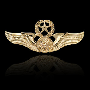 cheap Earrings-Men's Brooches Stylish Elegant Trendy Fashion Brooch Jewelry Gold Silver For Daily Holiday