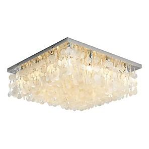 cheap Ceiling Lights-12 Bulbs QIHengZhaoMing 70 cm Chandelier Metal Shell Painted Finishes Modern 110-120V / 220-240V