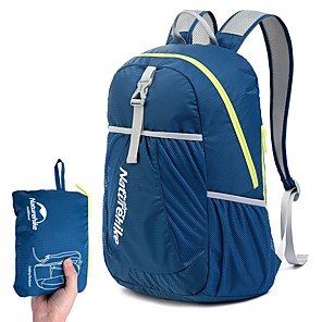 cheap Backpacks & Bags-22 L Lightweight Packable Backpack Daypack Lightweight Breathable Rain Waterproof Compact Outdoor Hiking Camping Running Nylon Sky Blue Green Dark Navy