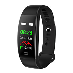 cheap Smart Wristbands-F64 Smart Wristband Bluetooth Fitness Tracker Support Notification/ Heart Rate Monitor Sports Waterproof Smartwatch for iPhone/ Samsung/ Android Phones
