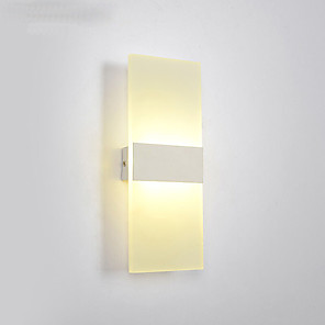 cheap Indoor Wall Lights-LED / Modern Contemporary Wall Lamps & Sconces Living Room / Bedroom Metal Wall Light 110-120V / 220-240V 6 W / LED Integrated