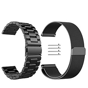 cheap Smartwatch Bands-Watch Band for Huawei Watch 2 Huawei Milanese Loop Stainless Steel Wrist Strap