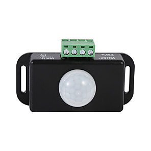 cheap Lamp Bases & Connectors-DC 12V/24V Body Infrared PIR Motion Sensor Switch For LED Light Strip Automatic