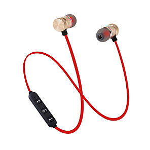 cheap Digital Voice Recorders-JTX M9 Neckband Headphone Wireless 4.1 with Microphone with Volume Control Magnet Attraction Sport Fitness