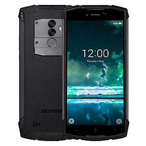 "cheap Cell Phones-DOOGEE S55 5.5 inch "" 4G Smartphone (4GB + 64GB 8 mp / 13 mp MediaTek MT6750T 5500 mAh mAh)"