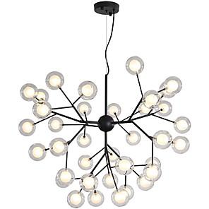 cheap Pendant Lights-80 cm Creative / New Design Chandelier Metal Glass Sputnik Painted Finishes Artistic / Globe 110-120V / 220-240V