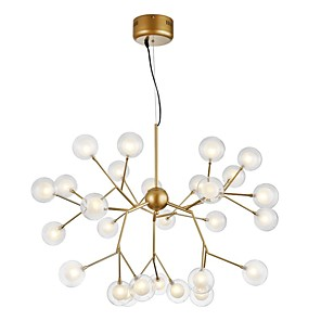cheap Flush Mounts & Semi Flush Mounts-27-Light 75 cm Creative / New Design Chandelier Metal Glass Sputnik Painted Finishes Artistic / Globe 110-120V / 220-240V