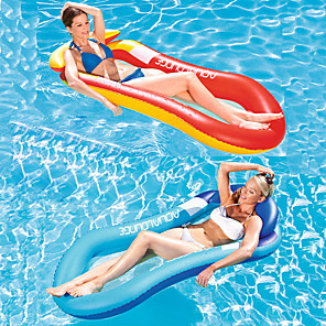 cheap Inflatable Ride-ons & Pool Floats-Inflatable Pool Floats PVC Inflatable Durable Swimming Waterskiing & Towsports for Adults 160*90 cm