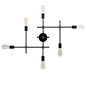 cheap Indoor Wall Lights-BriLight Creative Simple / Country Wall Lamps & Sconces Indoor / Shops / Cafes Metal Wall Light 110-120V / 220-240V 60 W