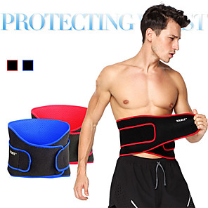 cheap Fitness Gear & Accessories-AOLIKES Waist Trimmer / Sauna Belt 1 pcs Sports Lycra Exercise & Fitness Gym Workout Workout Stretchy Breathable Adjustable / Retractable Training For Men's Waist