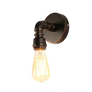 povoljno Zidni svijećnjaci-potkrovlje mini retro industrijski stil zidni ognjište restoran i bar metal vode cijev zidne svjetiljke oslikane završiti