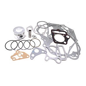 cheap OBD-52.4mm Piston Full Cylinder Engine Gasket Set For Horizontal 110CC Enging Repair Kits