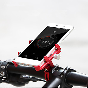 cheap Mounts & Holders-GUB® Bike Phone Mount Adjustable Portable Anti-theft for Road Bike Mountain Bike MTB Folding Bike Aluminum Alloy CNC iPhone X iPhone XS iPhone XR Cycling Bicycle Blue Pink Black / Red