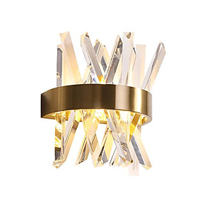 cheap Cluster Design-QIHengZhaoMing Crystal LED / Modern Contemporary Wall Lamps & Sconces Shops / Cafes / Office Metal Wall Light 110-120V / 220-240V 3 W / G9