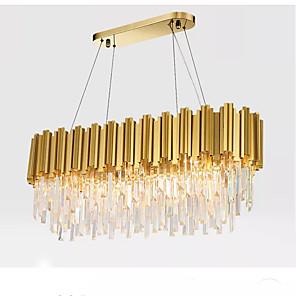 cheap LED String Lights-QIHengZhaoMing 10-Light 30 cm Chandelier Metal Electroplated Modern 110-120V / 220-240V