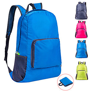 cheap Backpacks & Bags-22 L Hiking Backpack Lightweight Packable Backpack Rucksack Lightweight Breathable Rain Waterproof Fast Dry Outdoor Hiking Nylon Green Blue Grey / Compact