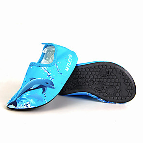 cheap Water Shoes & Socks-Water Socks Printing Polyester Quick Dry Anti-Slip Barefoot Yoga Swimming Surfing Snorkeling Water Sports Aqua Sports - for Kids